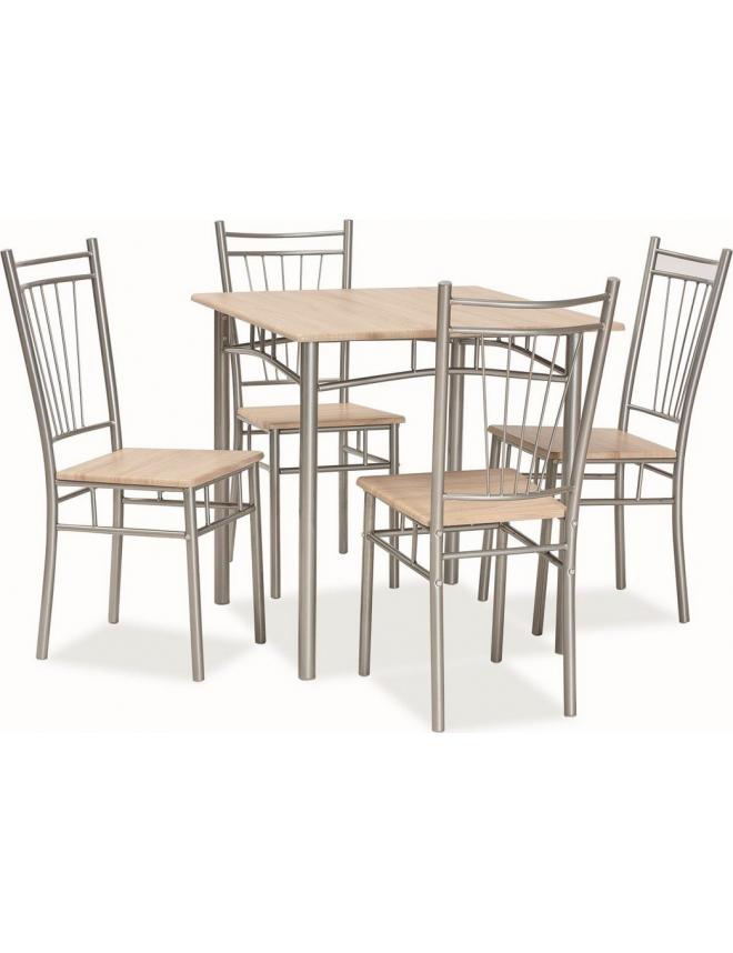 Seturi masa si scaune seturi pentru bucatarie mese si for Masa cu scaune dedeman