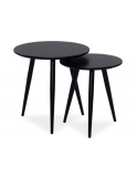 SET - 2 MASUTE DE CAFEA CLEO - BLACK- DESIGN SCANDINAV
