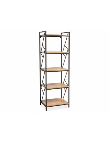 BIBLIOTECA TABLO R5 DESIGN INDUSTRIAL DIN METAL SI FURNIR