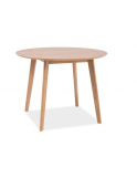 MASA MOSSO II NATURAL OAK - DESIGN SCANDINAV