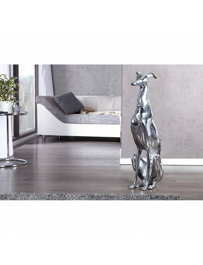 STATUETA - GREYHOUND DECORATION 70CM - 8891