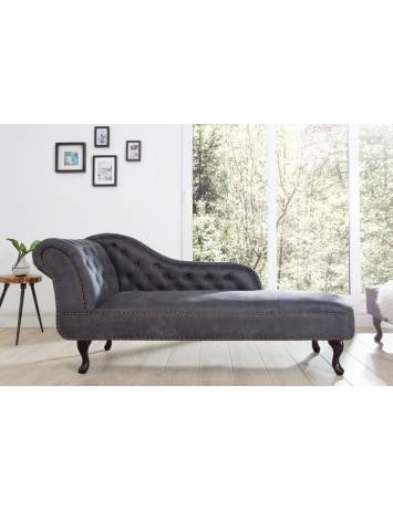 SOFA - COLTAR LUX DESIGN ENGLEZESC CHESTERFIELD GRI 170CM - 37475