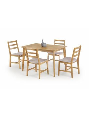 SET DINING - MASA CU 4 SCAUNE CORDOBA - DESIGN CLASIC - HALMAR