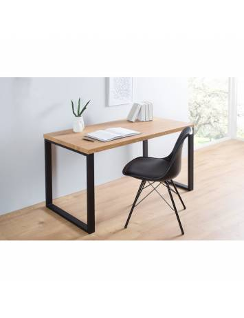 BIROU DESIGN VINTAGE/INDUSTRIAL BLACK DESK 38428