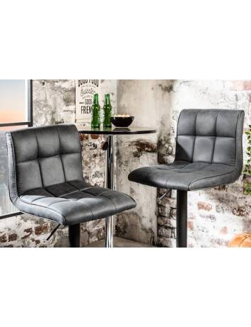SET 2 SCAUNE DE BAR GRI MODENA 39001 DESIGN MODERN