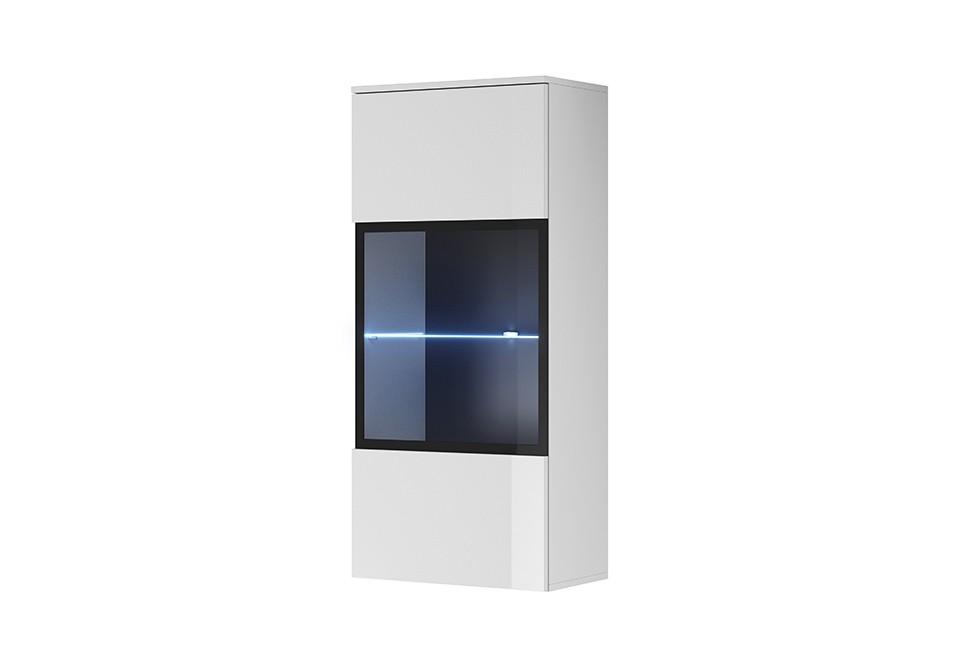 VITRINA LIVING CU LED SIMPLE SWT60 DESIGN SCANDINAV PSK