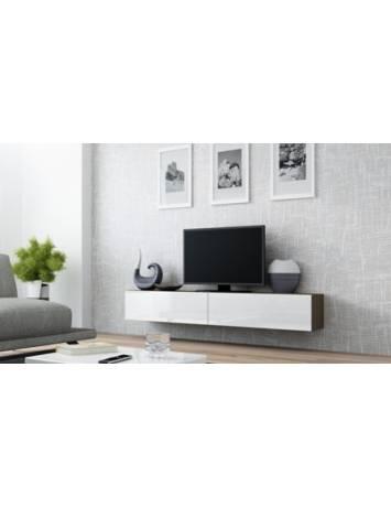 COMODA LIVING RTV VIGO 180 LATTE/ALB DESIGN MODERN CM