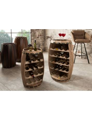 RAFT PENTRU STICLE CHATEAU 38964 NATURAL 60 cm DESIGN VINTAGE