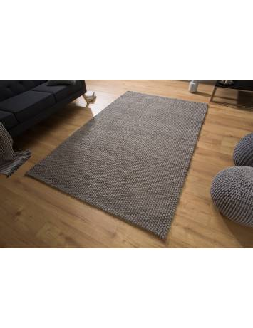 COVOR WOOL 250X155 cm ANTRACIT DESIGN MODERN