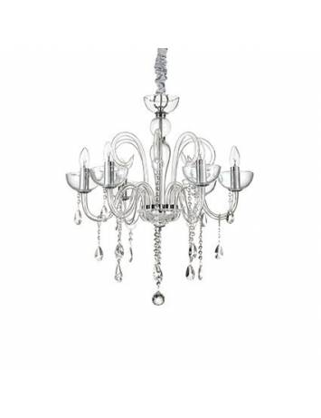 CANDELABRU DESIGN CLASIC CANALETTO SP6 TRASPARENT