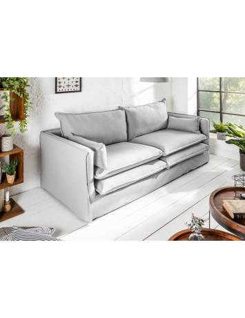 SOFA EXCLUSIVO CLOUD 195 cm GRI DESCHIS 39166 STIL MODERN
