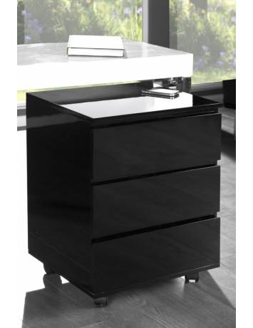 DULAPIOR OFFICE NEGRU BIG DEAL 17519 DESIGN MODERN