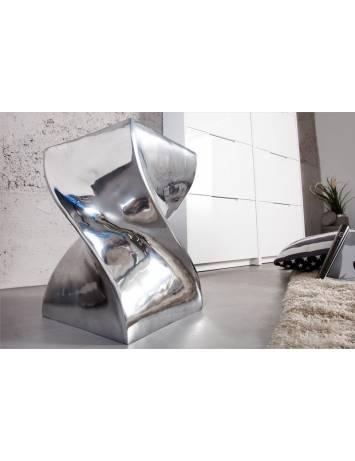 TABURET/MASUTA DE CAFEA TWIST 30220 DIN METAL DESIGN MODERN