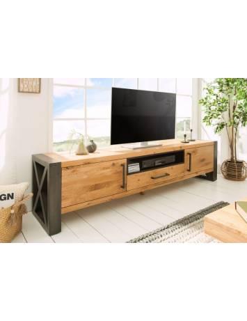 COMODA TV LOWBOARD THOR 38810 DIN LEMN MASIV STEJAR SALBATIC STIL MODERN