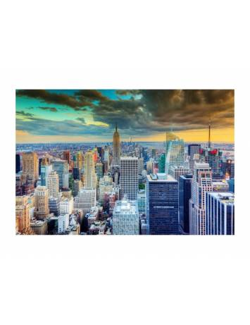 TABLOU DECORATIV NEW YORK 120X80 DIN STICLA DESIGN EXCLUSIVIST