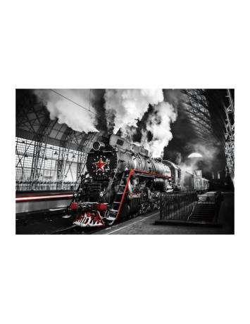 TABLOU DECORATIV LOCOMOTIVE 120X80 DIN STICLA DESIGN EXCLUSIVIST