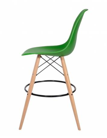 SCAUN DE BAR VERDE IRISH HOKER DSW WOOD STIL MODERN B2