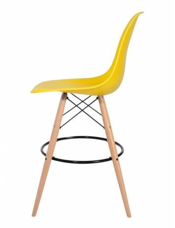 SCAUN DE BAR YELLOW HOKER DSW WOOD STIL MODERN B2