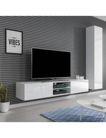 COMODA LIVING CU LED LIVO RTV 180W ALBA STIL MODERN HALMAR