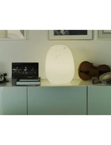LAMPADAR EXTERIOR ILUMINAT GUFO 40 SOLAR STIL MODERN B2