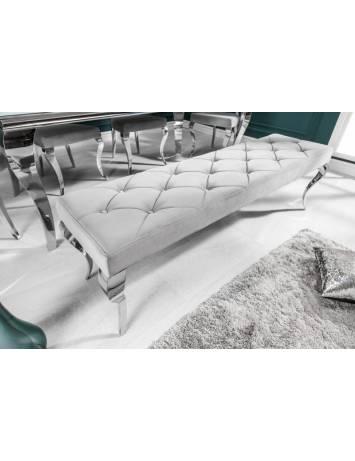 BANCHETA 170 CM BAROCK 39161 ARGINTIE DESIGN MODERN