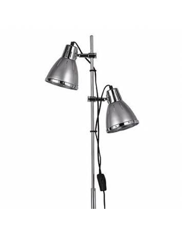 LAMPADAR ELVIS PT2 ARGINTIU STIL MODERN IDEAL LUX