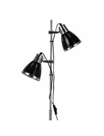LAMPADAR ELVIS PT2 NEGRU STIL MODERN IDEAL LUX
