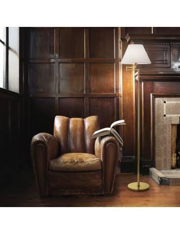 LAMPADAR BEVERLY PT1 OTTONE SATINATO STIL CLASIC IDEAL LUX