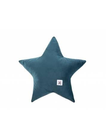 PERNUTA DECORATIVA VELVET STAR OCEAN DIN CATIFEA BA