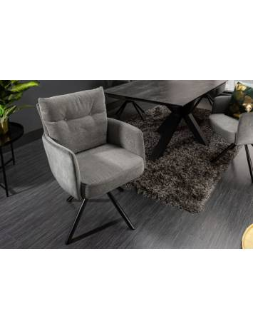 SCAUN DINING/LIVING BIG GEORGE GRI 40167 STIL MODERN