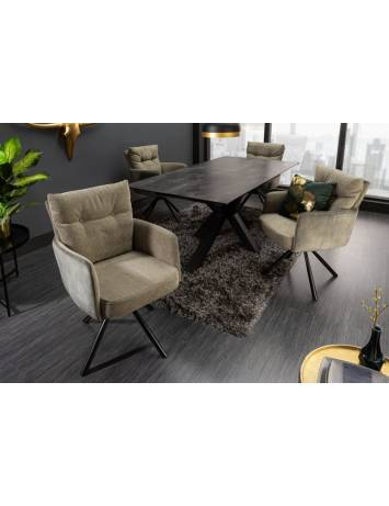SCAUN DINING/LIVING BIG GEORGE VERDE 40169 STIL MODERN