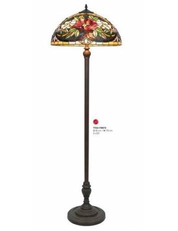 LAMPADAR DEOSEBIT TIFFANY, COD YT26+FBB75, DIN METAL SI STICLA