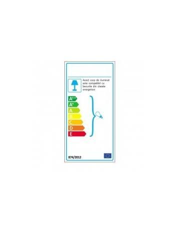 LAMPADAR DEOSEBIT TIFFANY, COD YT2953+FBB75, DIN METAL SI STICLA