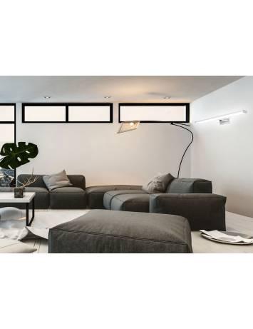 APLICA LED BAIE MIRROR CHROME APP369-1W, 12 W, 60 cm, CROM/ARGINTIU, DIN METAL CROMAT, STIL MODERN, TU