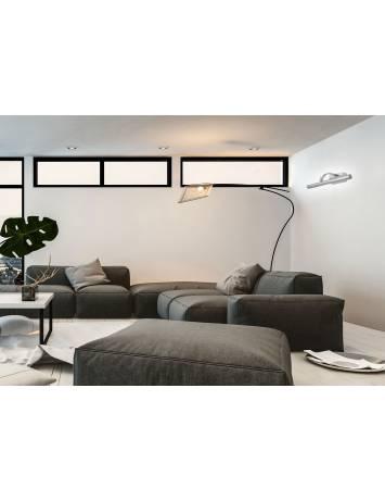 APLICA LED BAIE CHROME, 5W, 40 cm, CROM ARGINTIU, DIN METAL CROMAT, STIL MODERN, TU