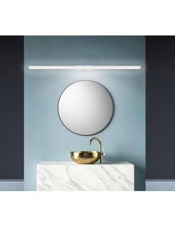 APLICA LED BAIE WHITE APP376-1W, 20W, 100 cm, ALB/ARGINTIU, DIN METAL, STIL MODERN TU