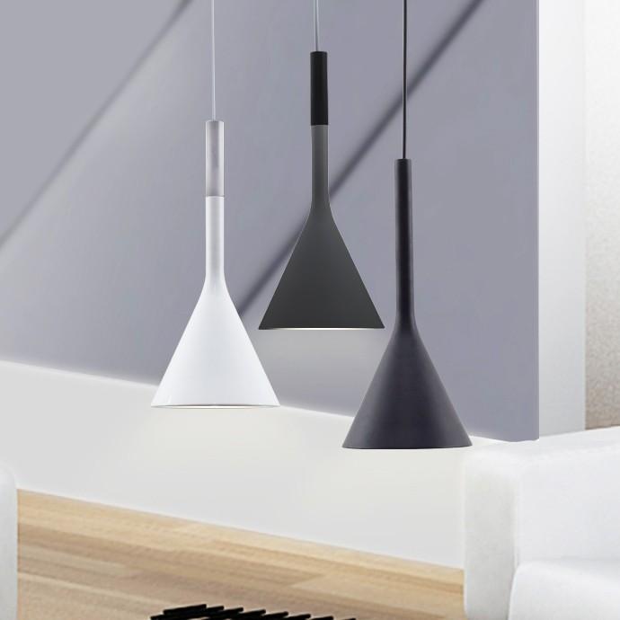 PENDUL FLAT A, FLAT WHITE, 25x123 cm, ALB, DIN ALUMINIU DE INALTA CALITATE, STIL MODERN, TU