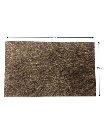 Covor 170x240 cm, maro, GARSON, 0000194104