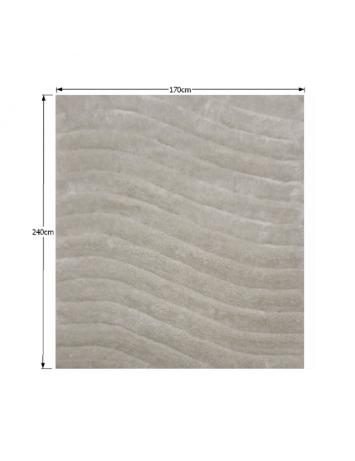 Covor 170x240 cm, alb/gri, SELMA, 0000194116