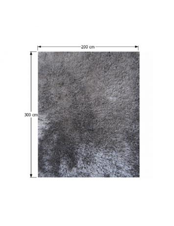 Covor 200x300 cm, gri, KAVALA, 0000194113