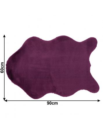 Blană artificială, violet, 60x90, RABIT TIPUL 6, 0000229886