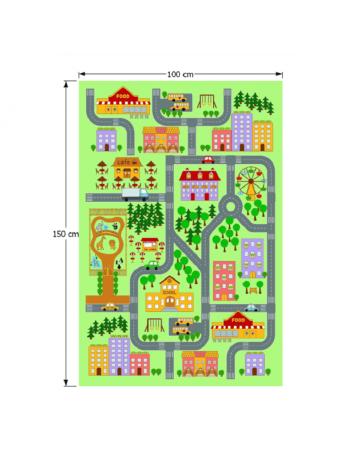 Covor, multicolor, 100x150, EBEL, 0000193179