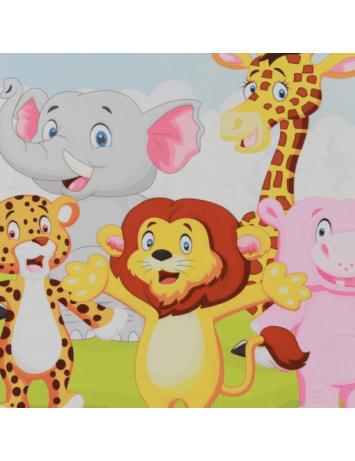 Covor camera copiilor 100x150 cm, multicolor, XANDER, 0000203355