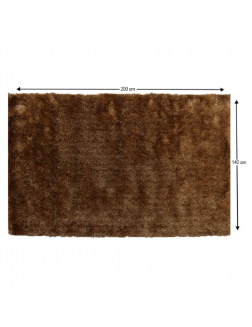 Covor, maro-auriu, 140x200, DELAND, 0000201445
