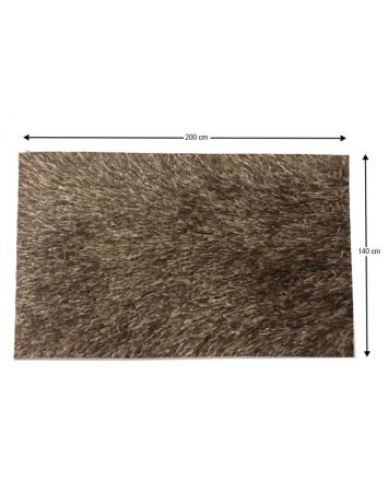 Covor 140x200 cm, maro, GARSON, 0000194103
