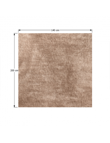 Covor 140x200 cm, maro deschis, ANNAG, 0000194079