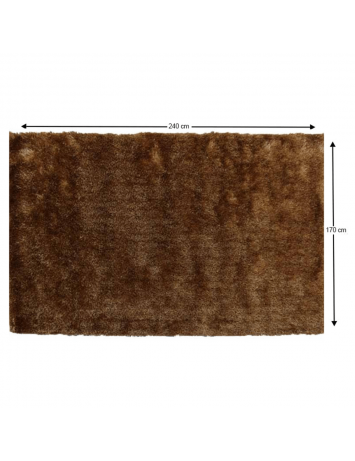 Covor, maro-auriu, 170x240, DELAND, 0000201446