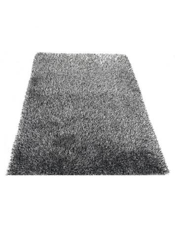 Covor 140x200 cm, crem/negru, VILAN, 0000194107