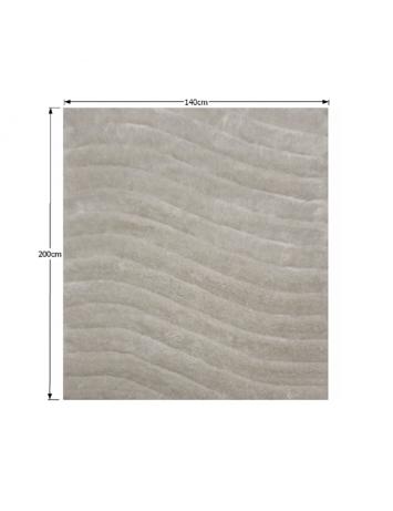 Covor 140x200 cm, alb/gri, SELMA, 0000194115