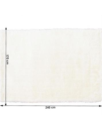 Covor 170x240 cm, alb, AMIDA, 0000194092